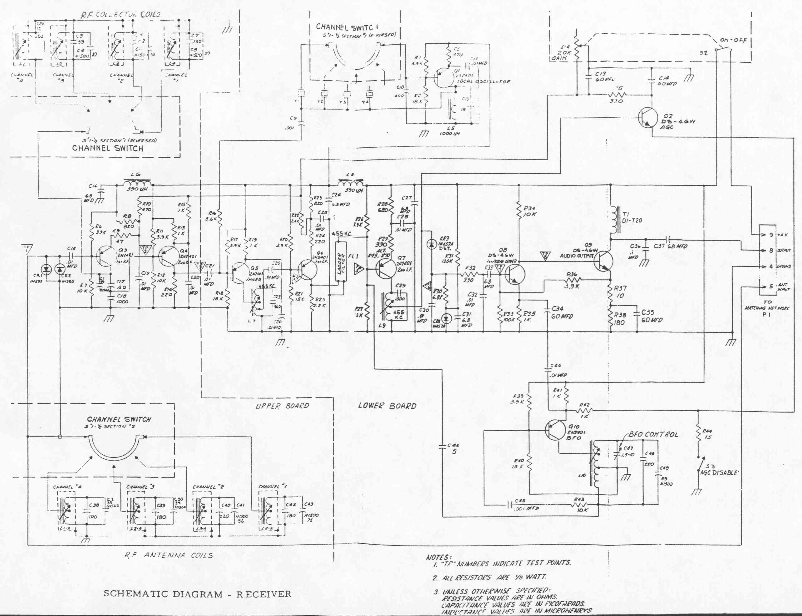 Delco Radio Schematics Expert Wiring Diagrams Diagram Delco5300 Schematic 5300a Receiver
